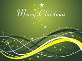 快乐圣诞背景 — 图库矢量图片
