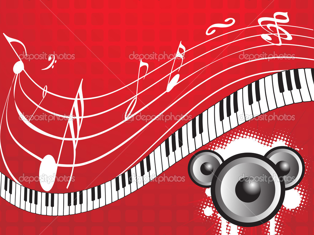 Musical composition disco series2, design55 — Stock Vector #2932674