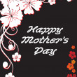 Royalty-Free Stock Vector Image: Happy mother day card