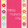 Royalty-Free Stock Vector Image: Pretty mother day card