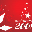 New year 2009 series2, design22 — Vector de stock #3024555