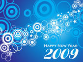 New year 2009 series2, design3 — Stock Vector