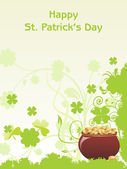 Background for st patrick day — Stock Vector