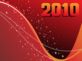 Ilustración vectorial para año nuevo — Vector de stock