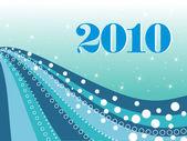Vector fondo de pantalla de año nuevo — Vector de stock