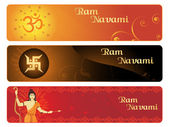 Ramnavami banner — Stock Vector