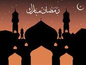Tapeta dla ramadan — Wektor stockowy