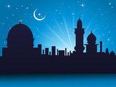 Wallpaper for ramadan celebration — Stock Vector