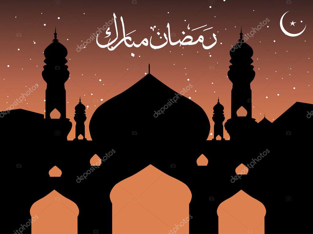 Vector wallpaper for ramadan | Stock Vector © alliesinteract #