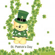 Stock Vector: Illustration for st. patrick's day