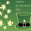 Stock Vector: Patrick's day background