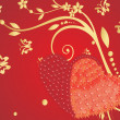 Royalty-Free Stock Vector Image: Red valentines background