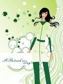 Illustration for st. patrick's day — Stock Vector