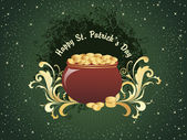 Vector illustration for patricks day — Stock Vector