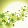 Saint patricks day background — Stock Vector #3068920