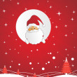 Santa blessing live long - Stock Vector