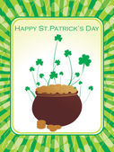 Illustrazione per st. patrick day — Vettoriale Stock
