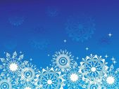 Snowflake background — Stock Vector