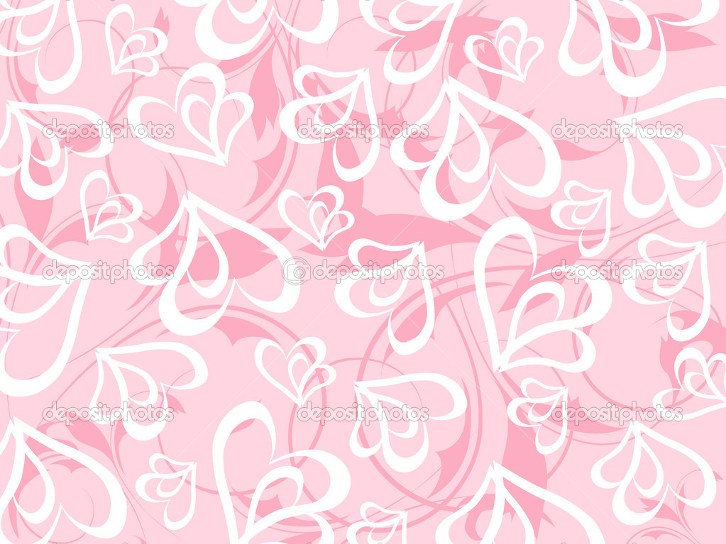 Romantic floral vector background — Imagen vectorial #3068838
