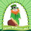 Background for st patrick day — Vector de stock #3092251