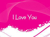 Stylish romantic background in pink — Stock Vector