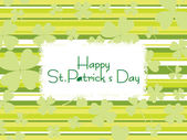 St. patrick s day greeting — Stock Vector