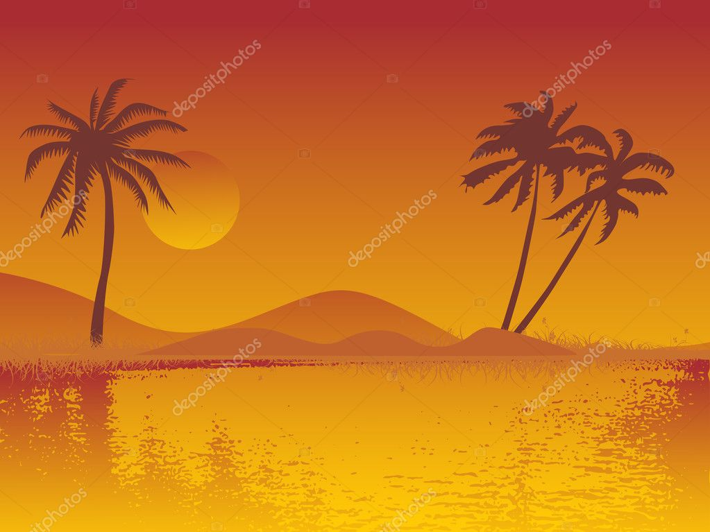 Summer background, design21  Stock Vector #3098809