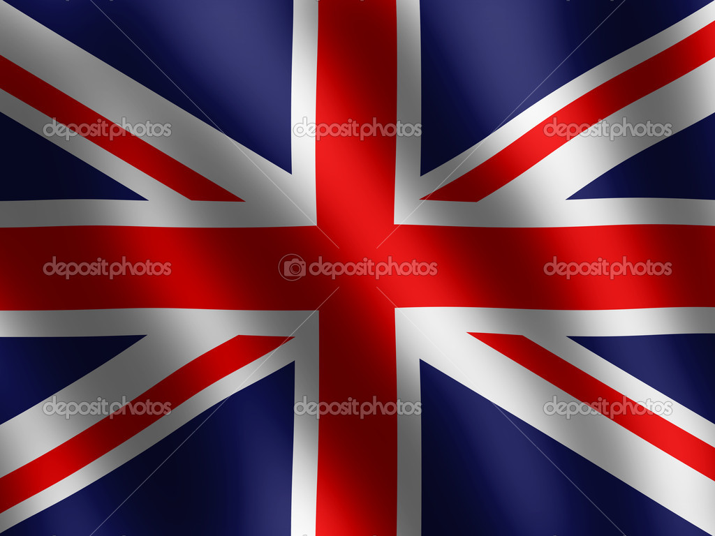 Vector waving Flag of England — Stock Photo #3106593