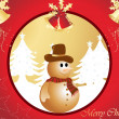 Background for xmas day - Stock Vector