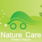 Vector wallpaper, ecology frame — Stock Vector