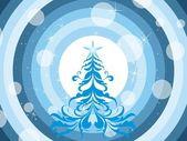 Wallpaper for merry xmas day — Stock Vector