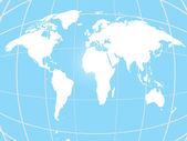 Fond d'écran, fond globe — Vecteur