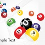 Vector pool balls design2 — Stock Vector #3111245