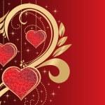 Illustration of romantic heart — Stock Vector #3111572