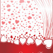 Valentines shining heart, banner78 - Stock Vector