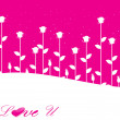 Valentines shining heart, banner97 - Stockvectorbeeld