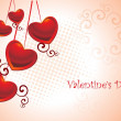 Beautiful romantic illustration — Vector de stock #3111987