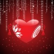 Romantic background for valentine day — Stock vektor