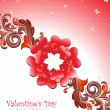 Royalty-Free Stock 矢量图片: Illustration for valentine day