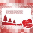 Vector christmas card for your love — Stock Vector #3119933