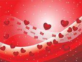 Sevgililer günü için vektör çizim — Stok Vektör