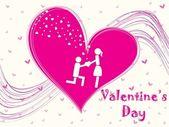 Vector illustration for valentine day — Stockvector