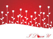 Valentines shining heart, banner96 — Stock Vector