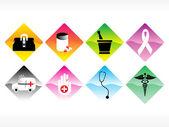 矢量医疗图标系列 — 图库矢量图片