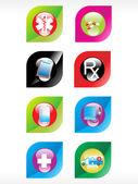 Vector medical icon series — Stock Vector