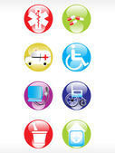 Vector medical icon series — Vettoriale Stock