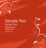 Vector label for sample text — Stock Vector