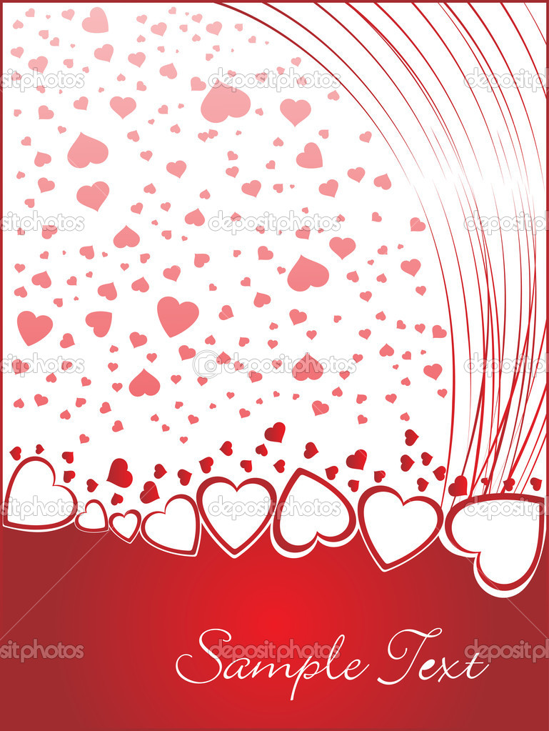 Valentines shining heart, banner78  Imagen vectorial #3111761