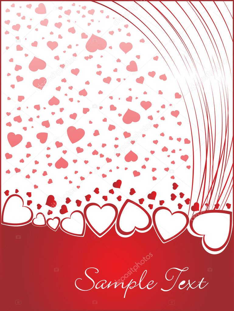 Valentines shining heart, banner78 — Stock Vector #3111761