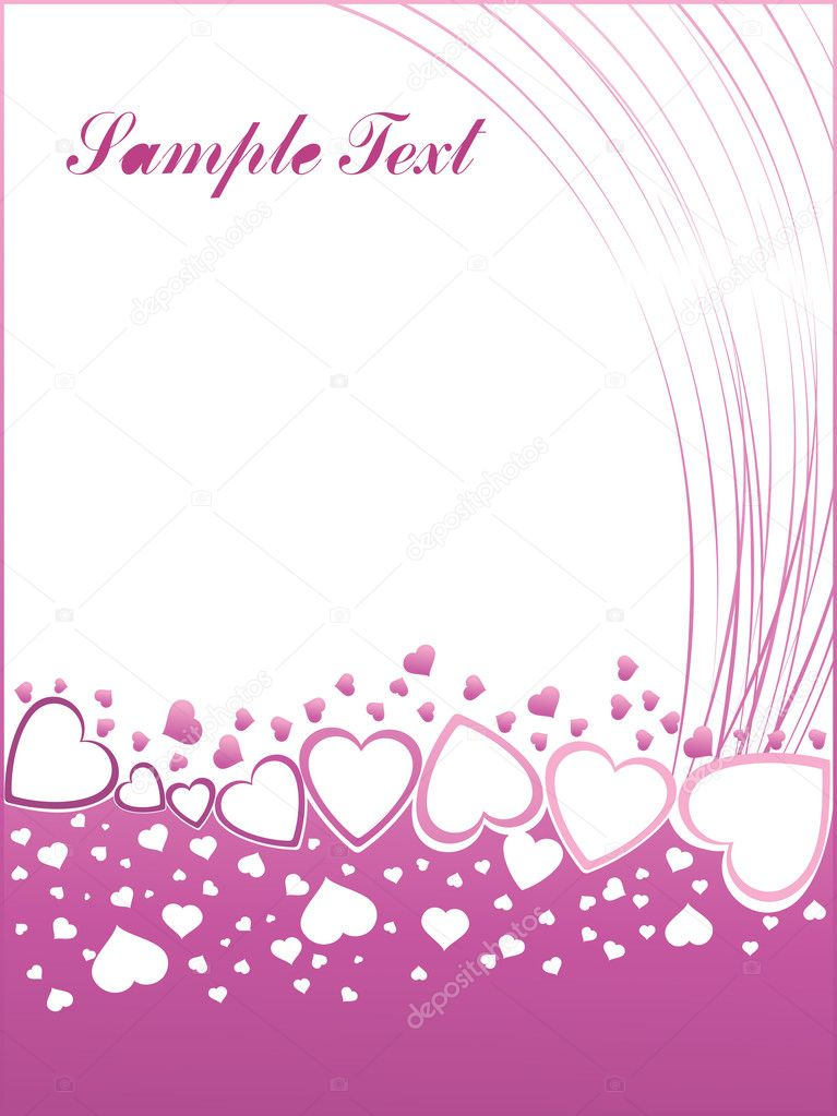 Valentines shining heart, banner75 — Stock Vector #3111815